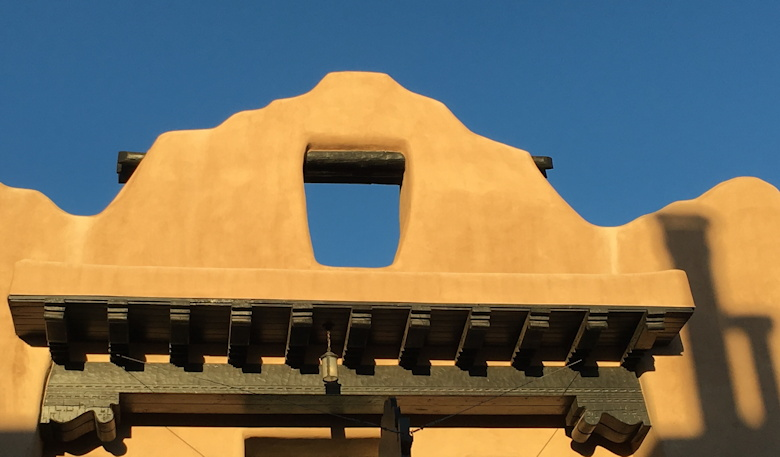 santa fe adobe skyline