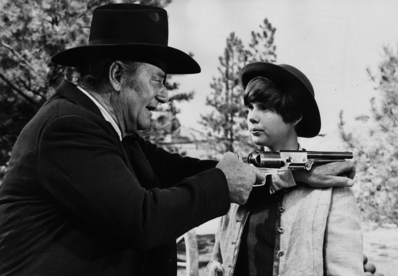 john wayne and kim darby in true grit