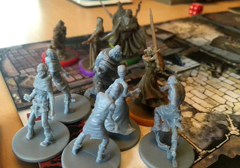 surrounded by zombies! zombicide black plague