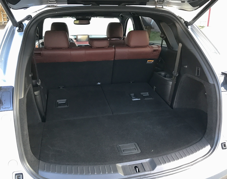 rear cargo section, mazda cx-9