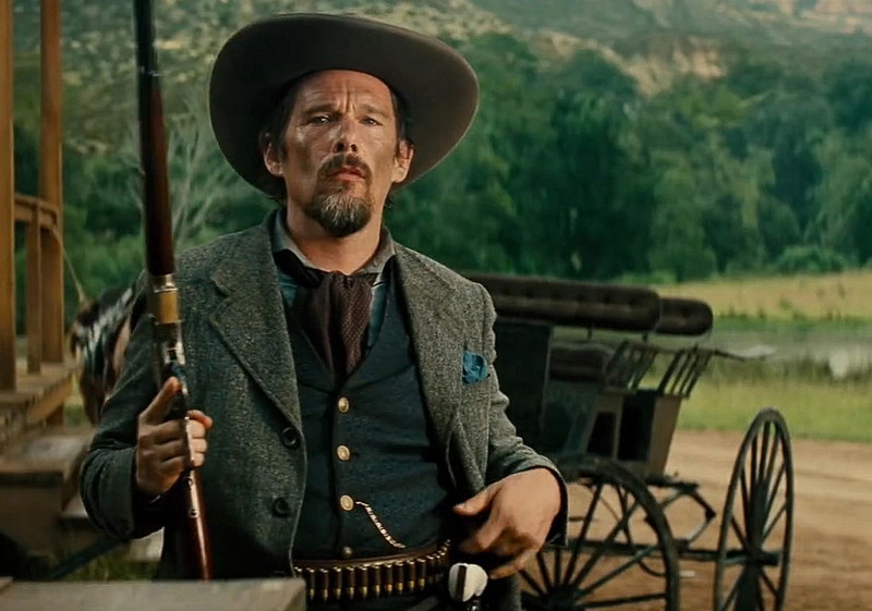 "Goodnight Robicheaux (Ethan Hawke) from ""The Magnificent Seven"""