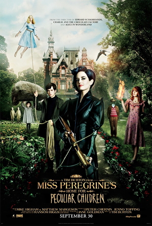 miss peregrine's home for peculiar children one sheet movie poster