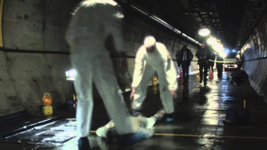 publicity still photo the tunnel 2013 tv series