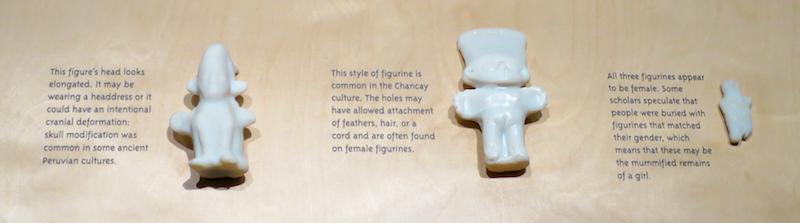 dolls buried with bodies, peru peruvian mummy