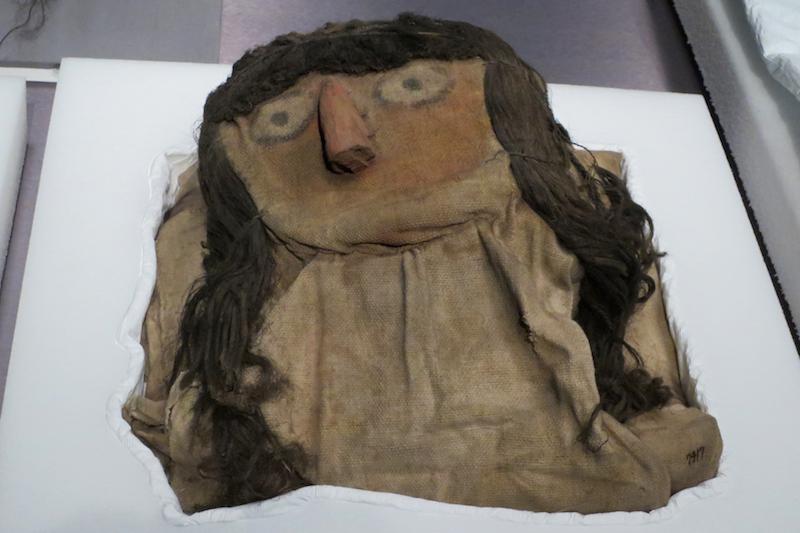 mask, peruvian mummy