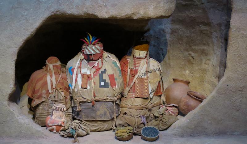 peruvian funeral tomb recreation, denver museum nature & science
