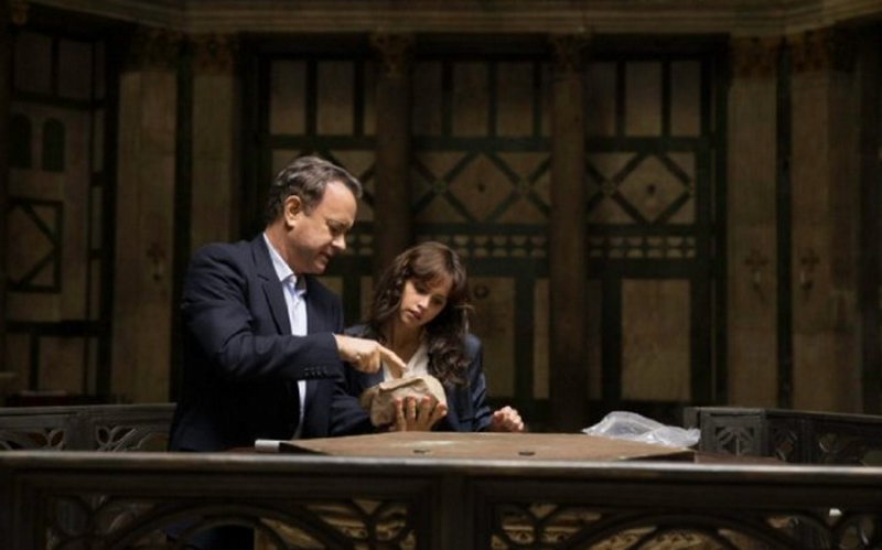 "Langdon (Tom Hanks) and XX (Felicity Jones), from ""Inferno"""