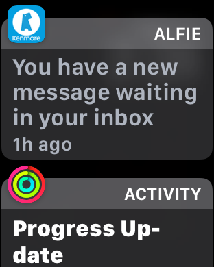 alfie alert, apple watch