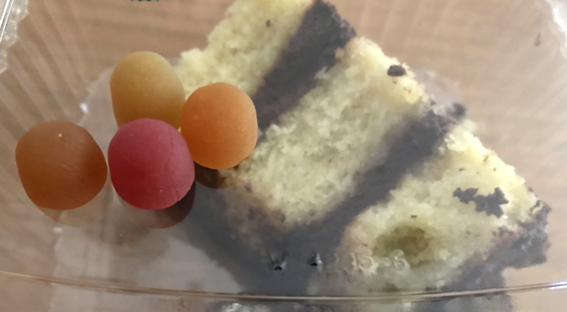 sundown natural probiotic gummies & chocolate cake