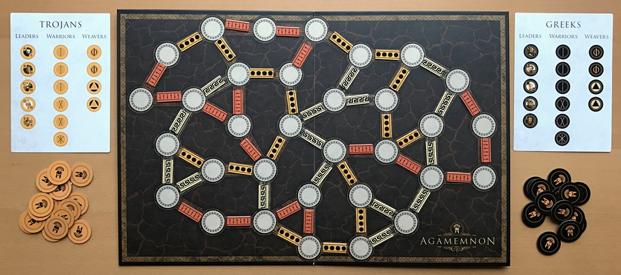 agamemnon board game osprey games