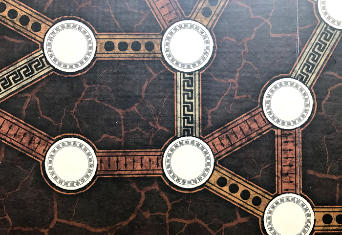 closeup of agamemnon board