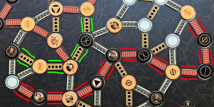 how to score agamemnon board game