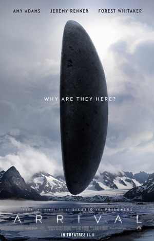 arrival 2016 movie poster one sheet review