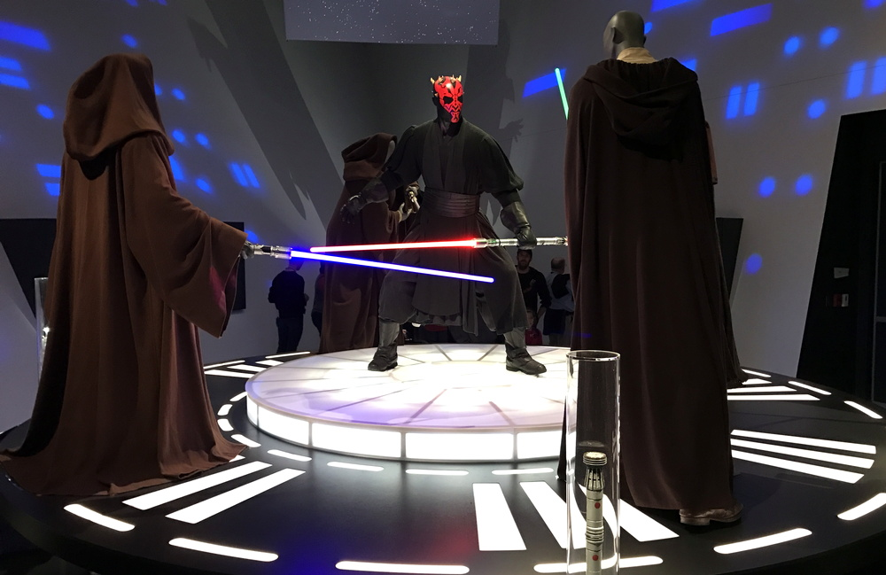 darth maul costume design, star wars