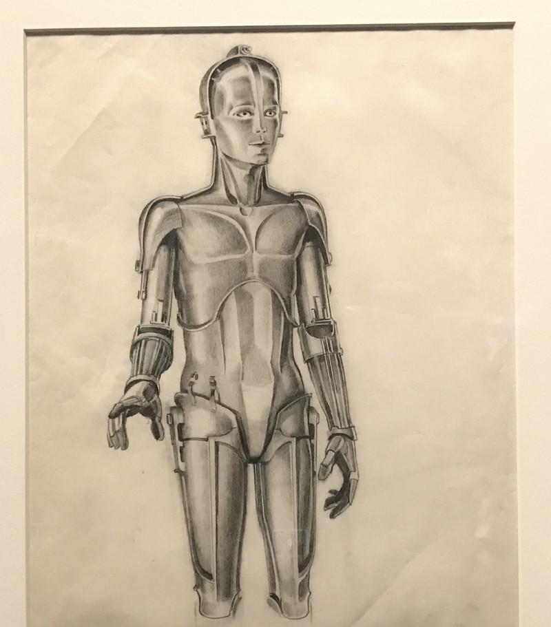 original c3po robot design, star wars