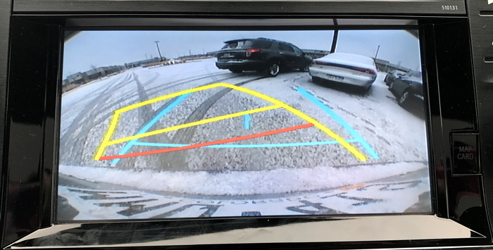 2017 toyota avalon hybrid backup reversing camera