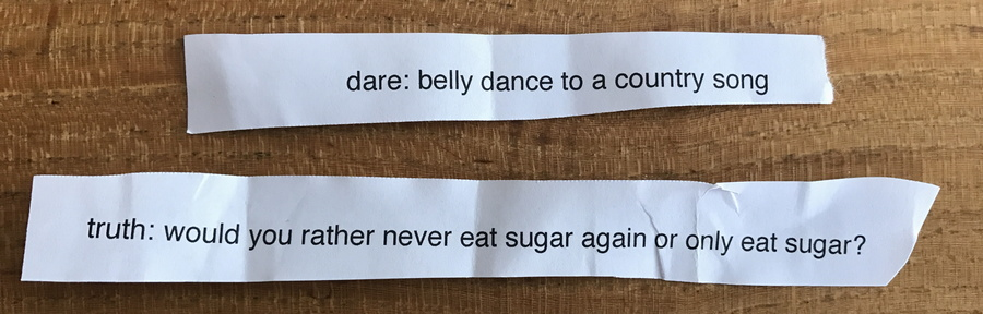 truth or dare examples