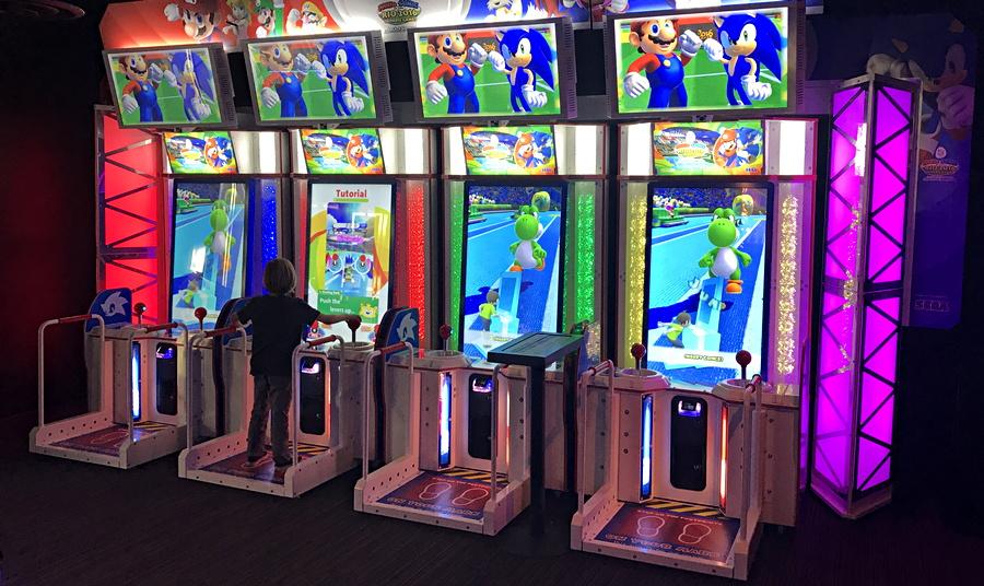 ftw denver mario running video arcade game
