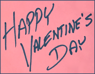 a homemade kid-focused happy valentine's day