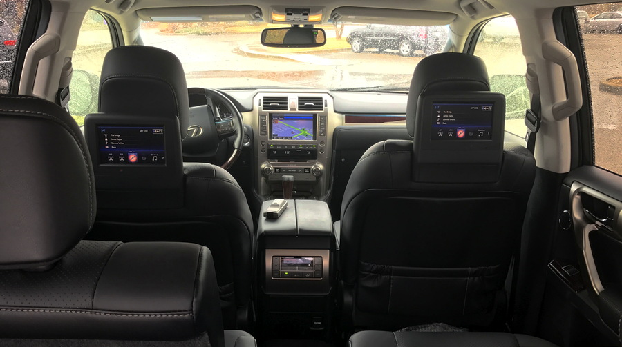 full interior view, 2017 lexus gx460