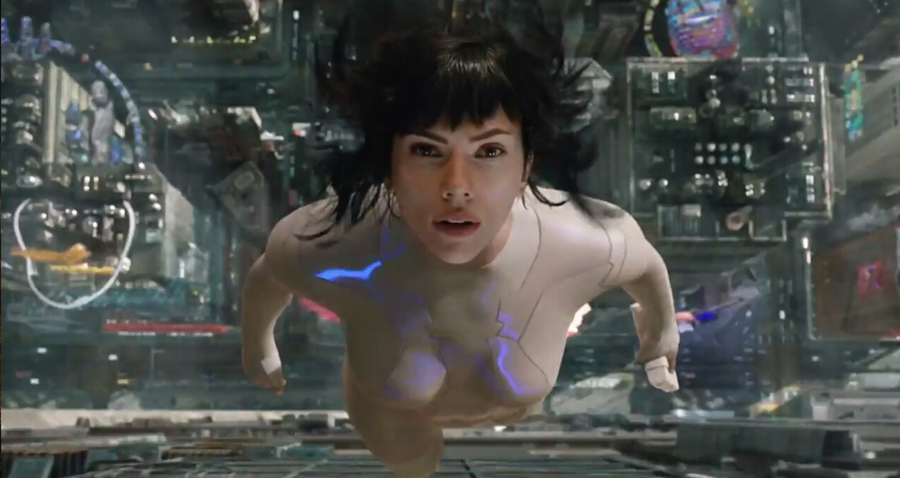 "Major (Scarlett Johansson), from ""Ghost in the Shell"""