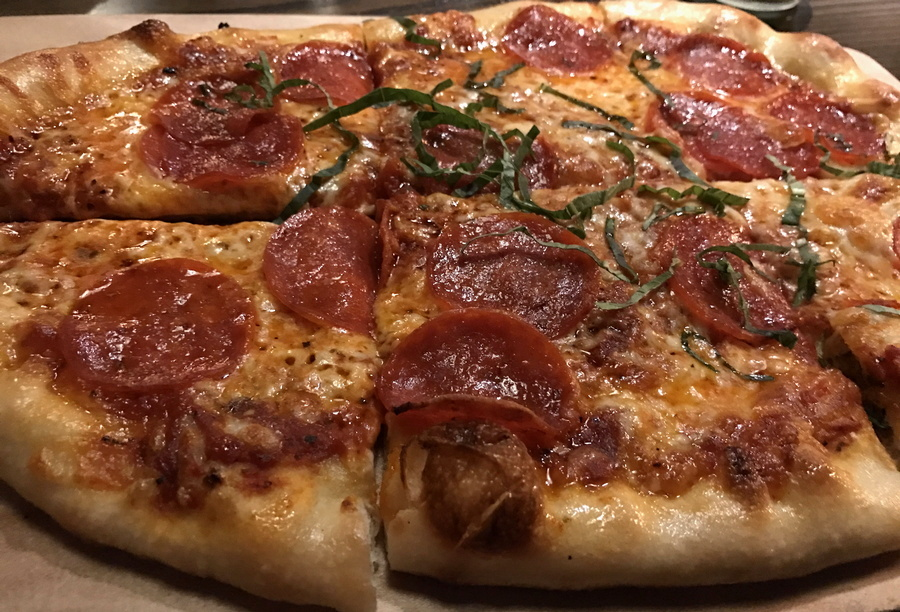 pepperoni pizza, the wild game, longmont