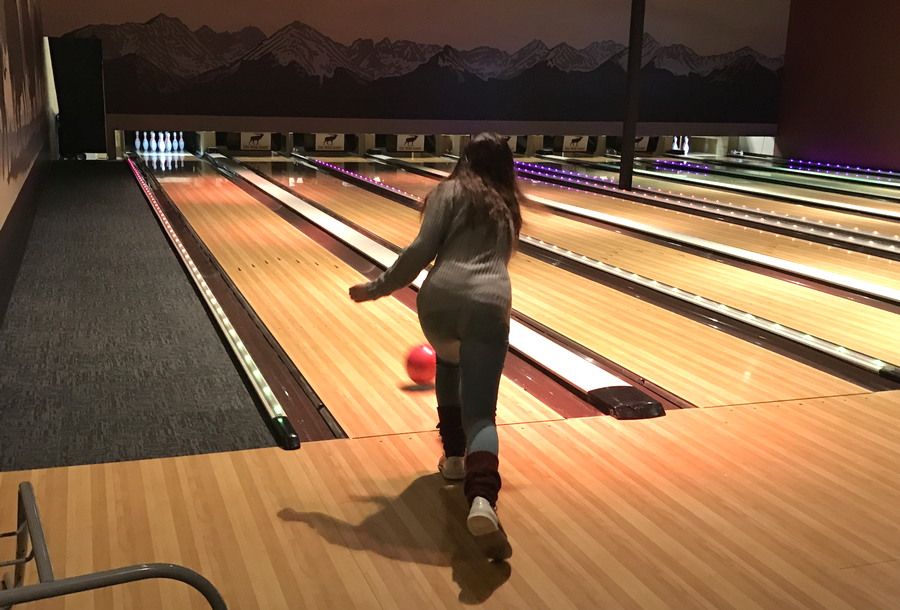 girl bowling, the wild game, longmont co