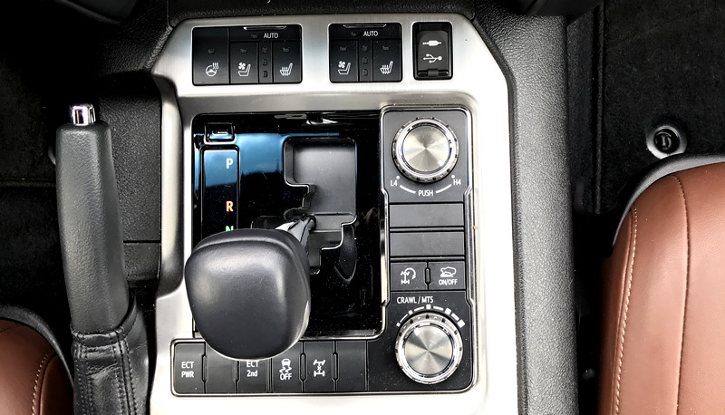 driver safety controls, toyota 2017 land cruiser