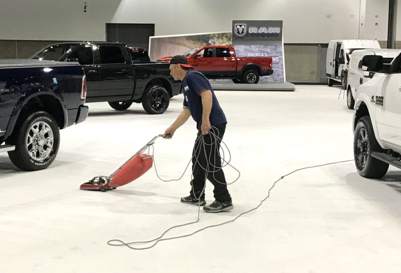carpet vacuum guy denver auto show