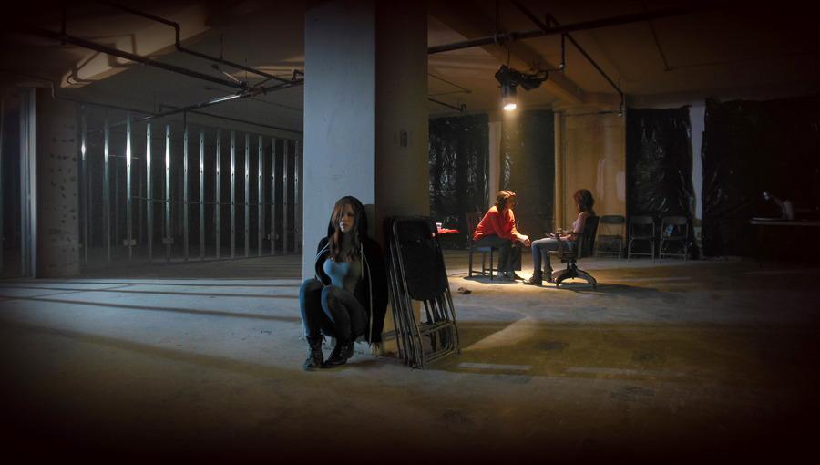 courtney sinclair displacement movie still publicity photo