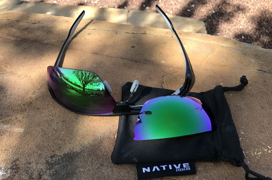 changing lenses, native hardtop ultra xp sunglasses