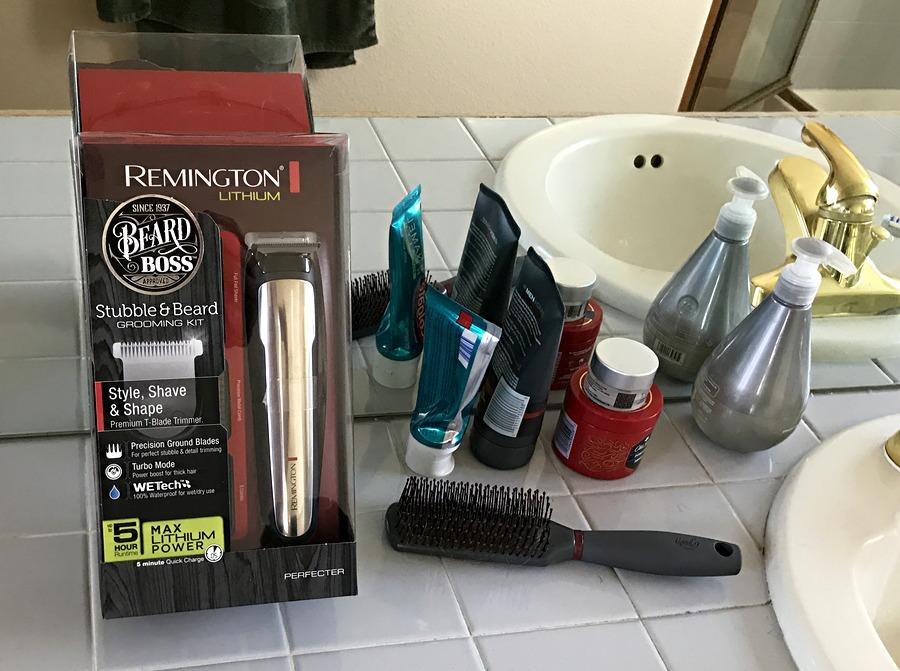 remington perfecter beard boss stubble detail kit