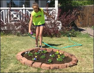 diyz garden project mother's day diy