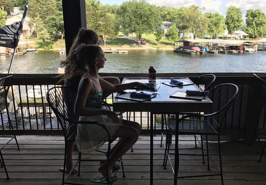 dinner lakeside
