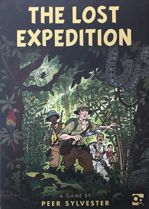 the lost expedition by osprey games