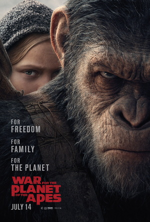 war for the planet of the apes movie review film