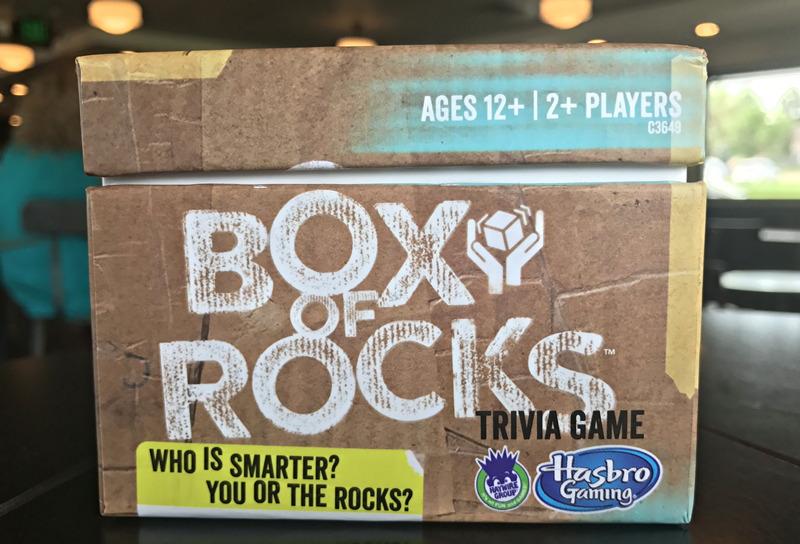 box of rocks trivia game