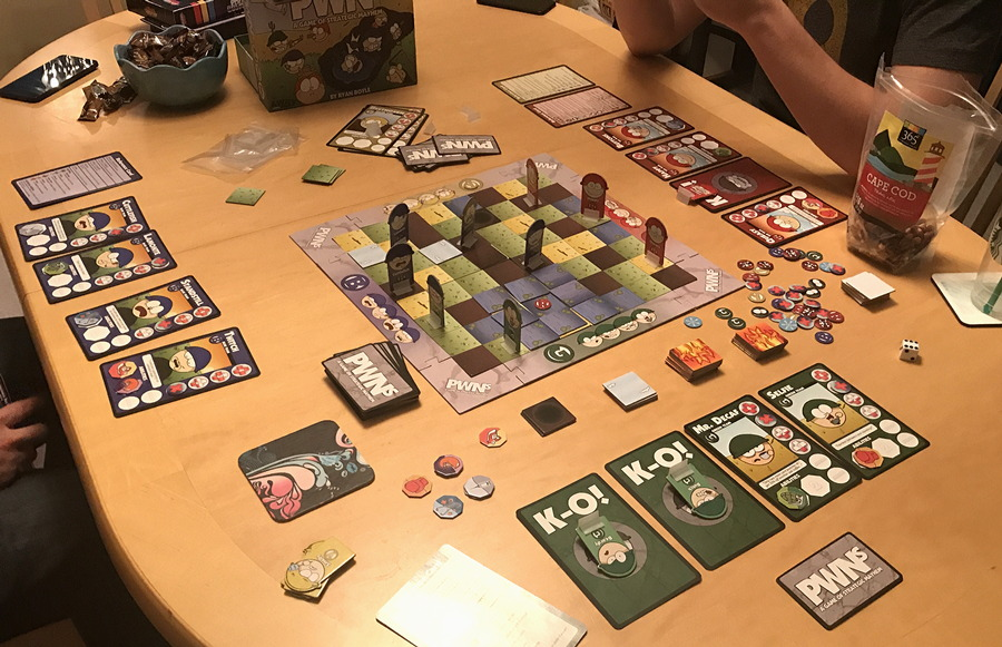 pwns game of strategic mayhem board game review reviewed