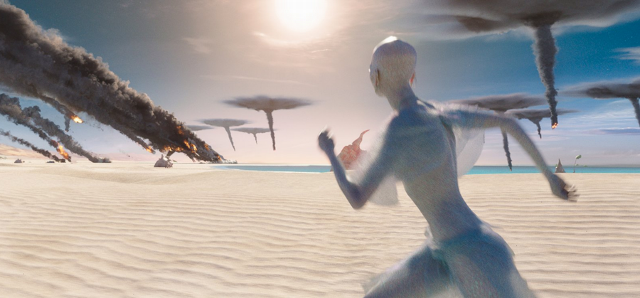 """Danger on Planet Mül, from """"Valerian and the City of a Thousand Planets"""""""