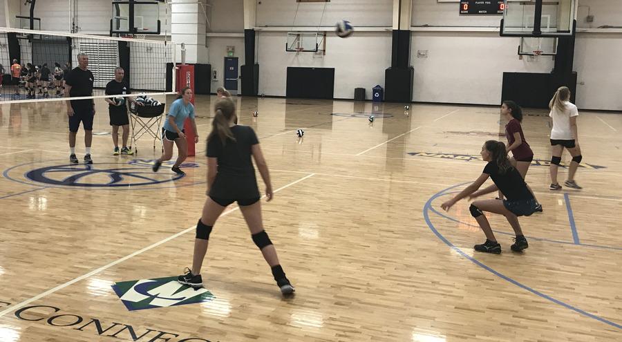 volleyball camp survivor