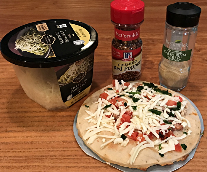nutrisystem pizza with extra ingredients
