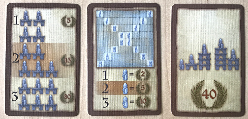 advanced game goals, torres board game, idw games