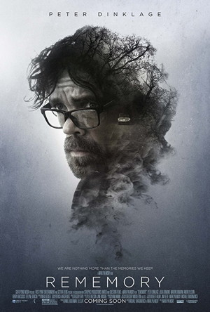 rememory movie poster one sheet, starring peter dinklage