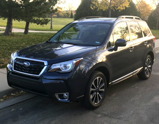 2018 subaru forester review evaluation test drive