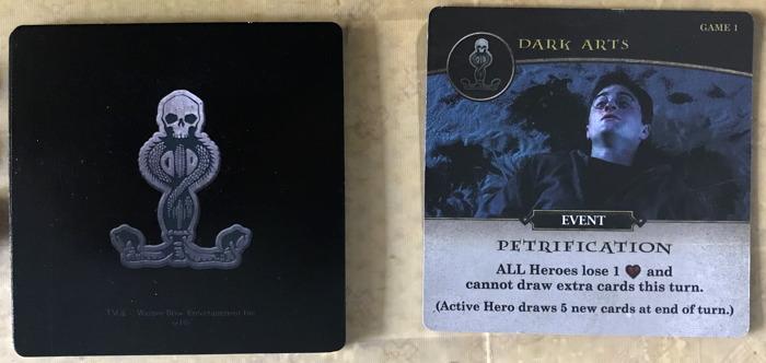 harry potter hogwarts battle - dark arts card