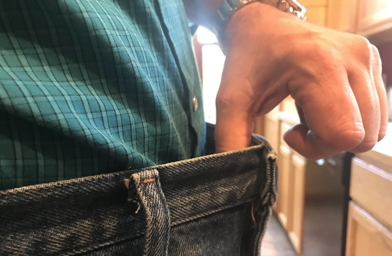 lost weight nutrisystem - pants too big