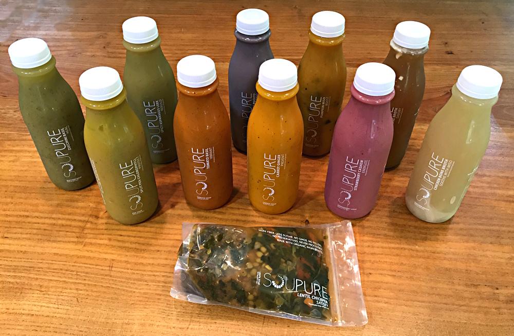 soupure soups - the full set