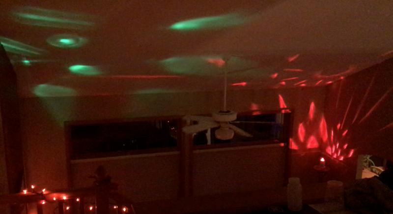 disco lighting, party