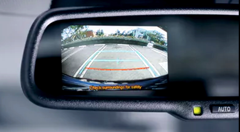 rear view mirror - camera - 2018 toyota chr