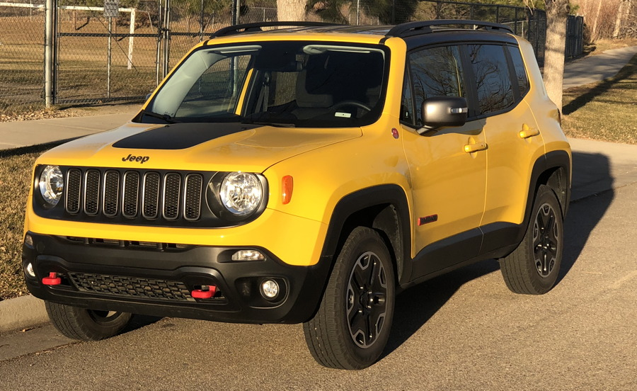 2017 jeep renegade yellow